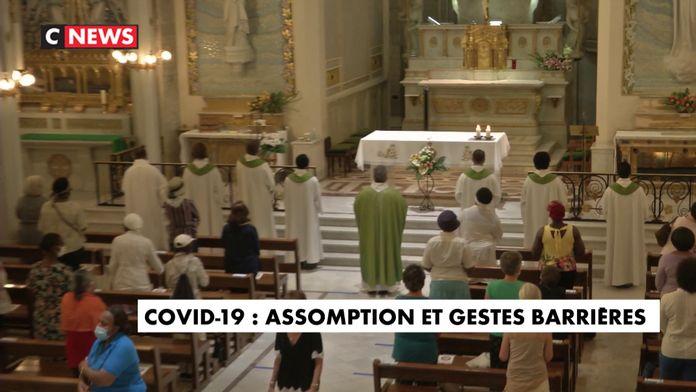 Covid-19 : Assomption et gestes barrières