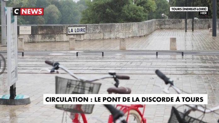 Circulation : le pont de la discorde à Tours