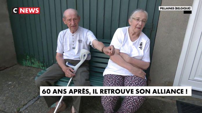 60 ans après, il retrouve son alliance