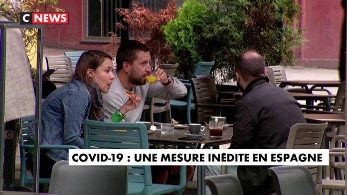 Covid-19 : une mesure inédite en Espagne