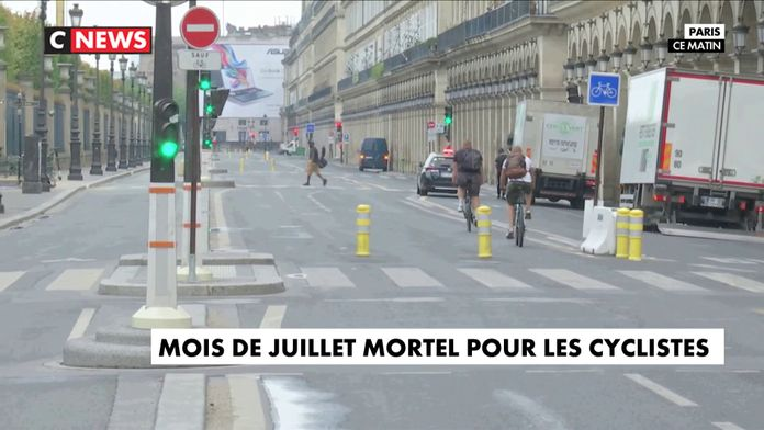 Mois de juillet mortel pour les cyclistes