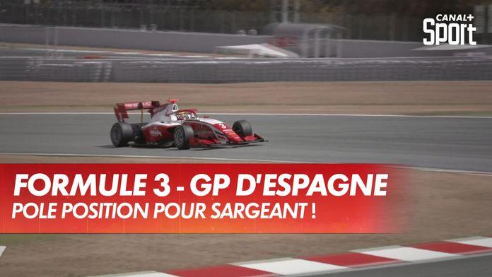 Troisième pole position pour Sargeant : Grand Prix d'Espagne - Formule 3