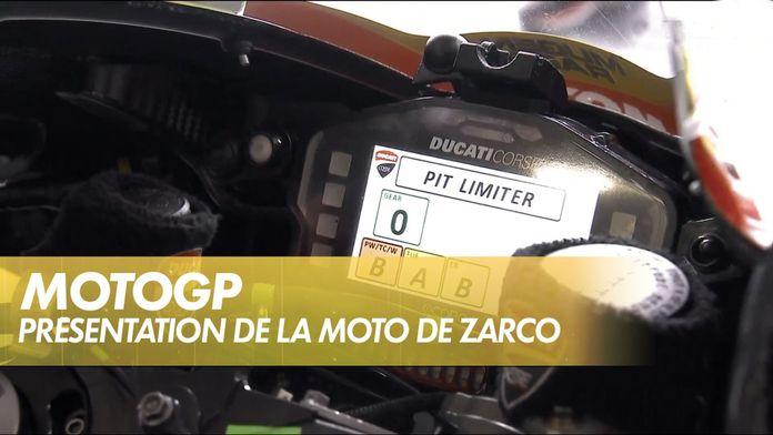 Au coeur du cockpit de Johann Zarco : MotoGP