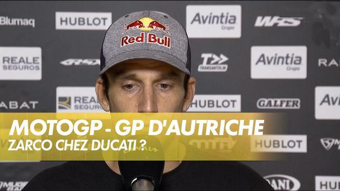 "Johann Zarco : Ducati officiel, ""juste du bonus"" : MotoGP"