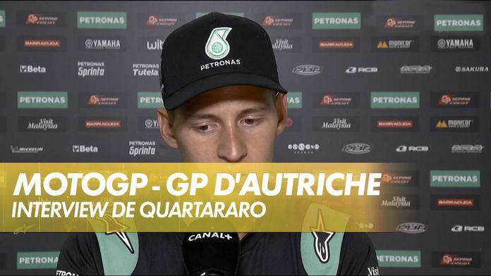 """Quartararo : """"Une explication pour Brno' : MotoGP"""