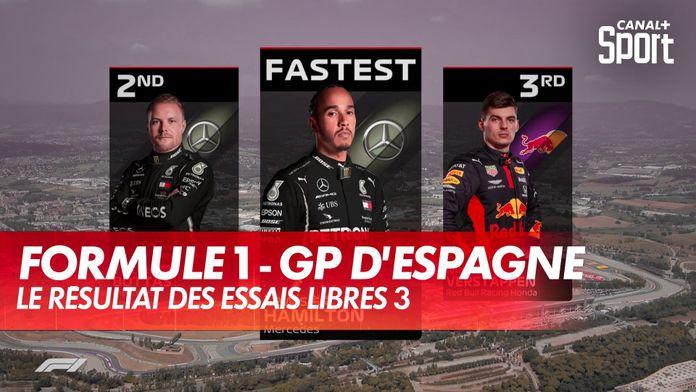 Les résultats des Essais Libres 3 : Grand Prix d'Espagne