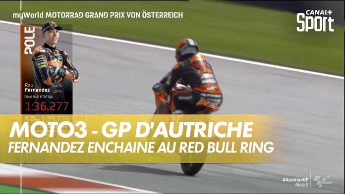 Raul Fernandez de nouveau en pôle ! : GP d'Autriche Moto3
