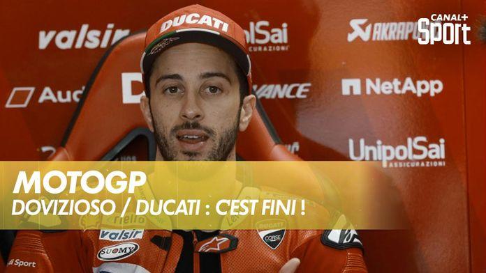 Andrea Dovizioso quittera Ducati en fin de saison : MotoGP