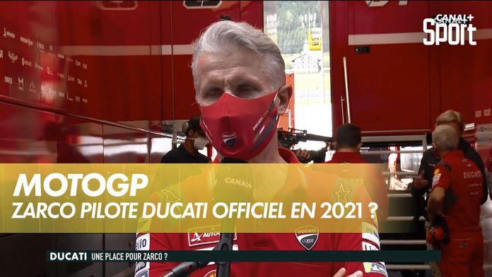 Une place pour Johann Zarco chez Ducati officiel ? : MotoGP