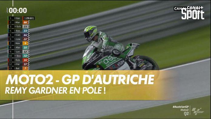 Rémy Gardner prend la pôle ! : GP d'Autriche Moto2