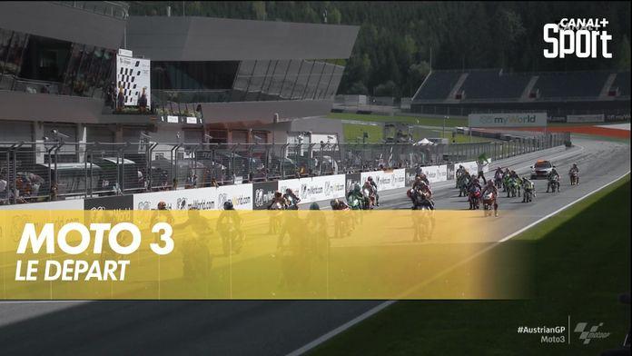 Le départ de la Moto 3 : Austrian GP