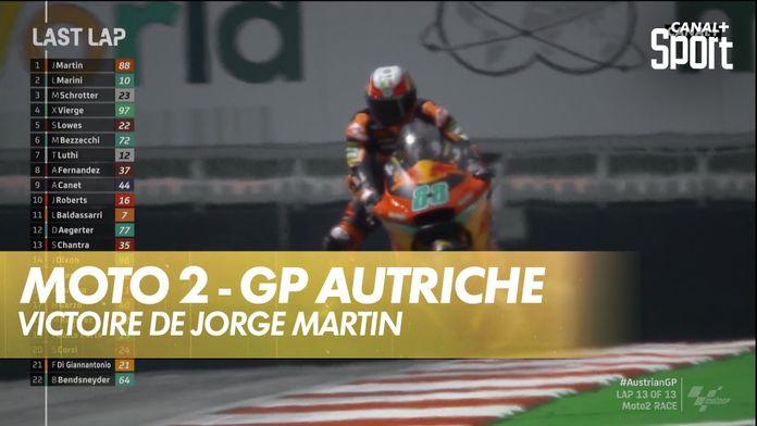 Victoire de Jorge martin : Moto 2 Autriche GP