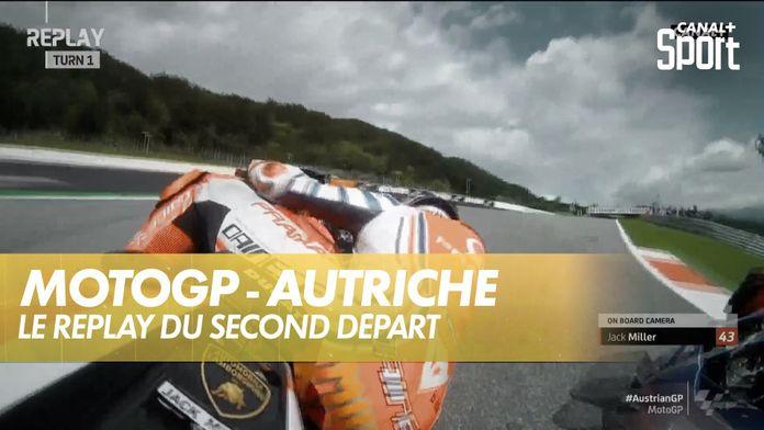 Le replay du second départ : MotoGP Grand prix d'Autriche