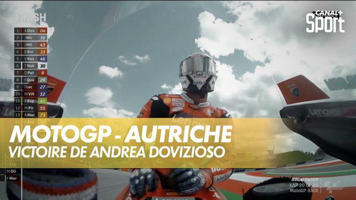 Victoire de Andrea Dovizioso : MotoGP Grand prix d'Autriche