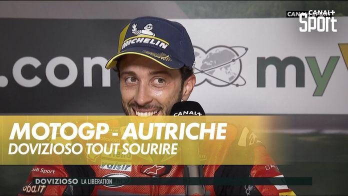 Dovizioso tout sourire après sa course : MotoGP Grand prix d'Autriche