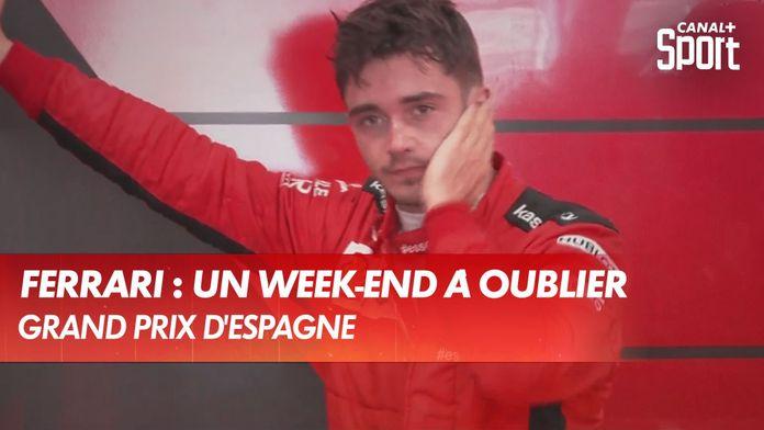 Ferrari, un week-end à oublier : Grand Prix d'Espagne
