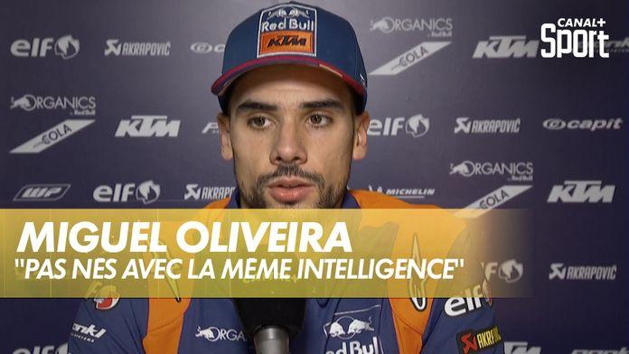 Oliveira « Nous ne sommes pas tous nés avec la même intelligence » : MotoGP Grand prix d'Autriche