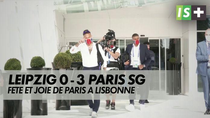 Fête et joie de Paris à Lisbonne : Ligue des Champions - Leipzig 0 - 3 Paris SG