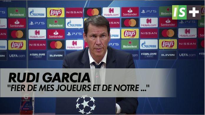 """Garcia : """"Fier de mes joueurs et de notre parcours"""" : Ligue des Champions - Lyon 0-3 Bayern"""