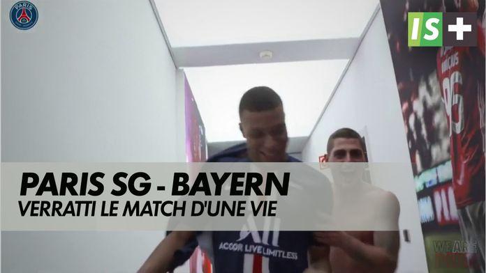 Verratti, le match d'une vie : Ligue des Champions : Paris SG / Bayern