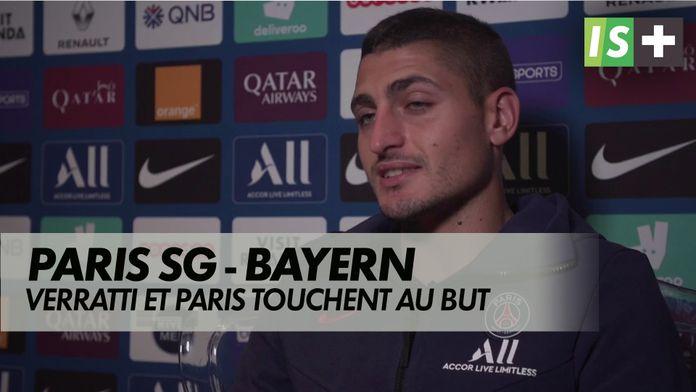 Verratti et les parisiens touchent au but : Ligue des Champions : Paris SG / Bayern