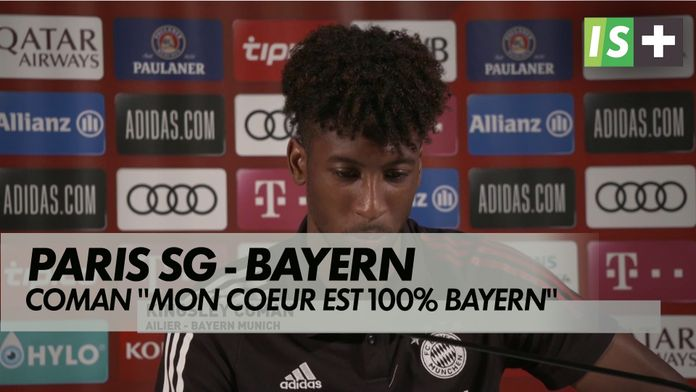 """Coman : """"Mon cœur est à 100% Bayern"""" : Ligue des Champions : Paris SG / Bayern"""