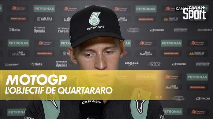 """Quartararo : """"Enfoncer le clou"""" au championnat : MotoGP"""