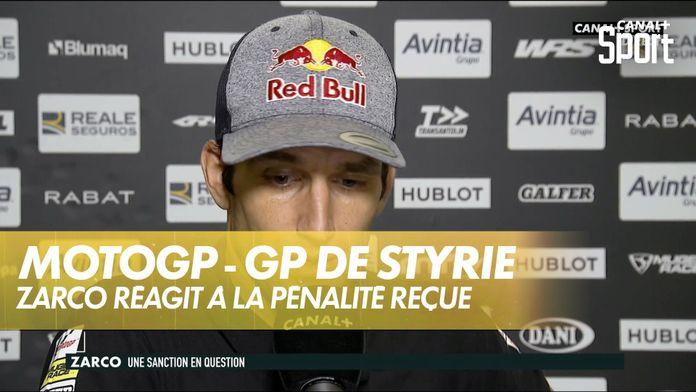 """Johann Zarco : """"On veut me mettre la faute dessus"""" : MotoGP"""
