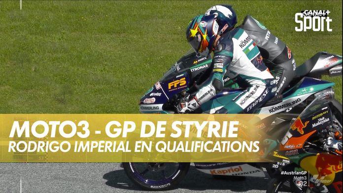 Gabriel Rodrigo en pôle : GP de Styrie Moto3