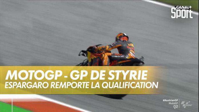 Pol Espargaro en pôle, Zarco 3ème ! : MotoGP