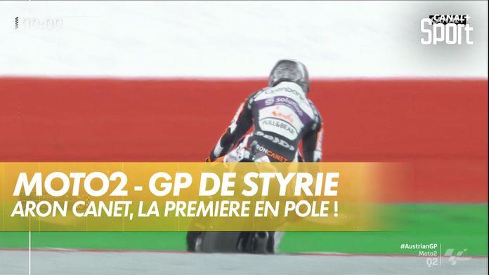 Aron Canet en pôle ! : GP de Styrie Moto 2
