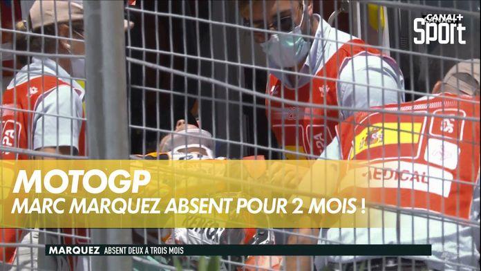 Marc Marquez absent 2 à 3 mois : MotoGP