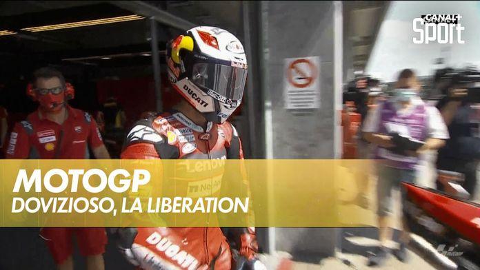 Andrea Dovizioso, la libération : MotoGP