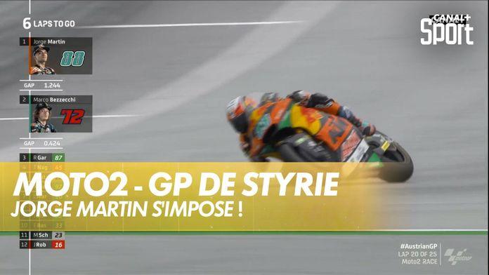 Jorge Martin fait le doublé historique ! : GP de Styrie Moto2