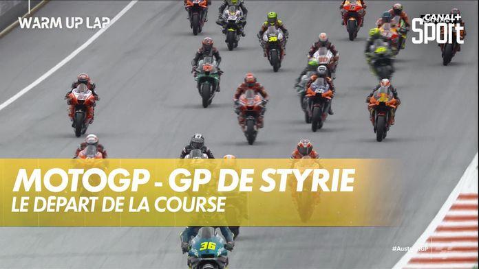 Le départ de la course : GP de Styrie MotoGP