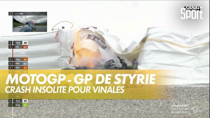 La moto de Maverick Vinales perd les freins ! - GP de Styrie MotoGP : MotoGP