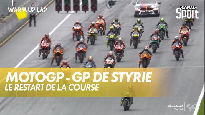 Le 2ème départ : GP de Styrie MotoGP