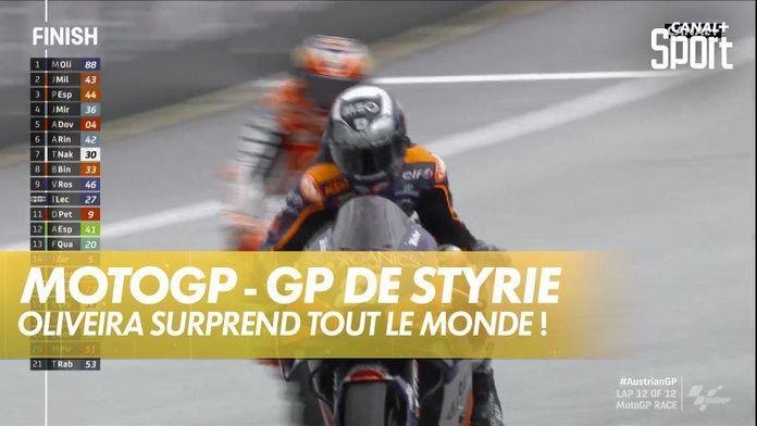 Miguel Oliveira s'impose dans le dernier virage ! : GP de Styrie MotoGP