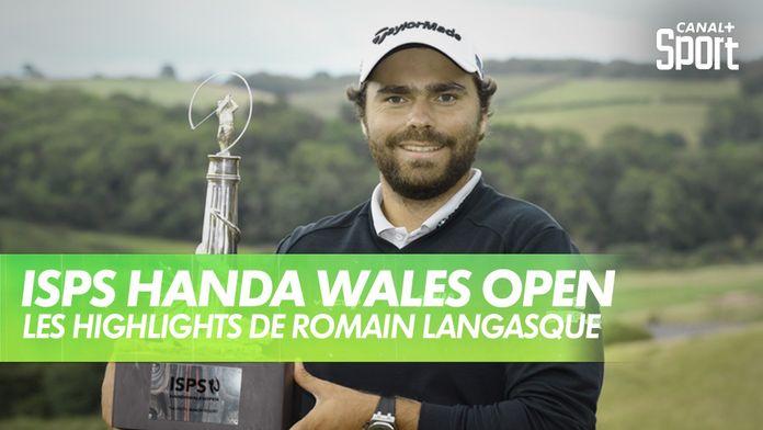 Premier titre pour Romain Langasque : ISPS Handa Wales Open