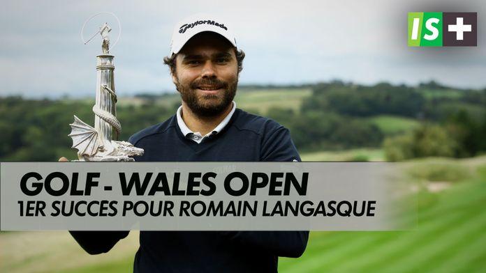 Premier succès sur l'European Tour pour Romain Langasque : Golf - Wales Open