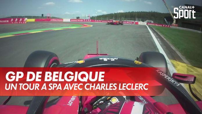 Un tour onboard à Spa avec Charles Leclerc : Grand Prix d'Espagne