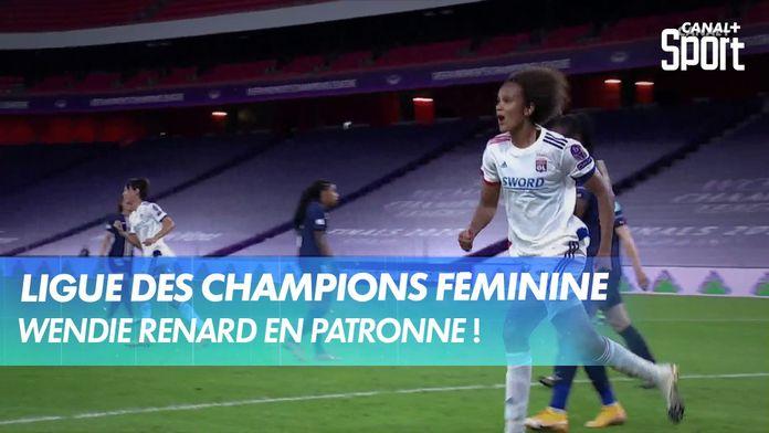 Wendie Renard marque le premier but lyonnais / Paris-SG - Lyon : UEFA Women's Champions League