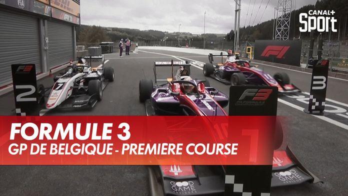 Le classement de la première course : Grand Prix de Belgique