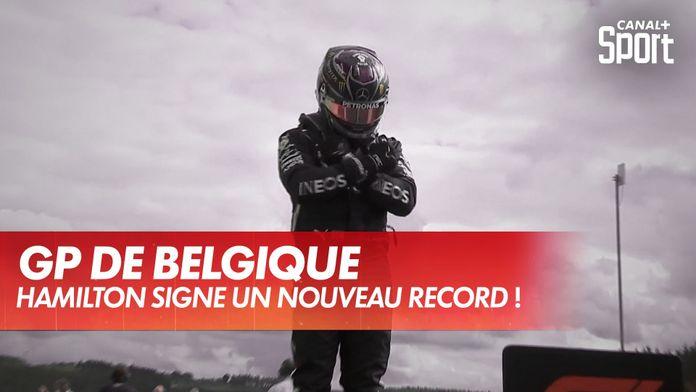 Hamilton signe le record de la piste de Spa ! : Grand Prix de Belgique