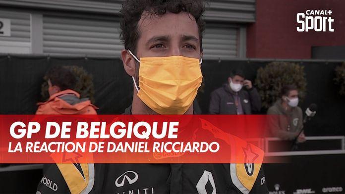La réaction de Daniel Ricciardio : Grand Prix d'Espagne