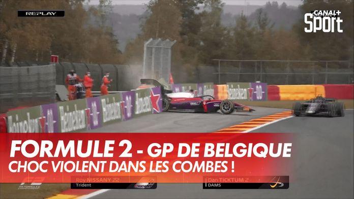 Choc violent entre Nissany et Ticktum : GP de Belgique Formule 2
