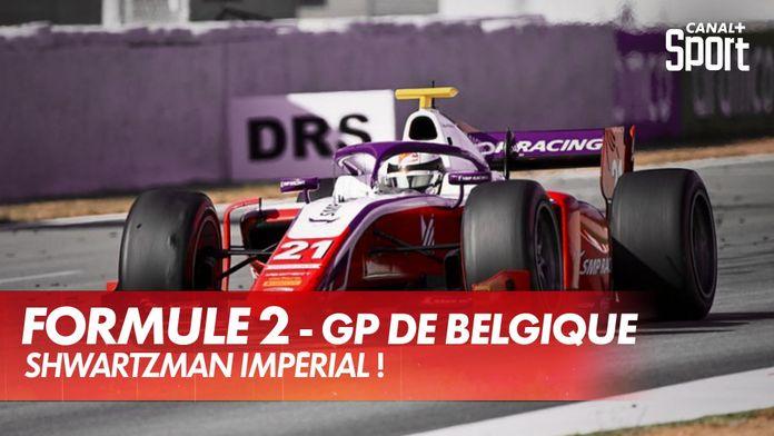 Shwartzman impérial devant Mick Schumacher : GP de Belgique Formule 2