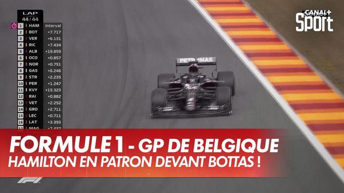 Hamilton patron devant Bottas ! : Grand Prix de Belgique