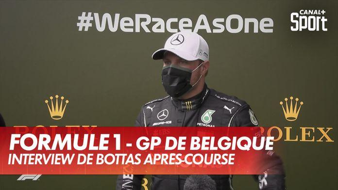 """Bottas : """"Lewis a fait un sans-faute"""" : Grand Prix de Belgique"""