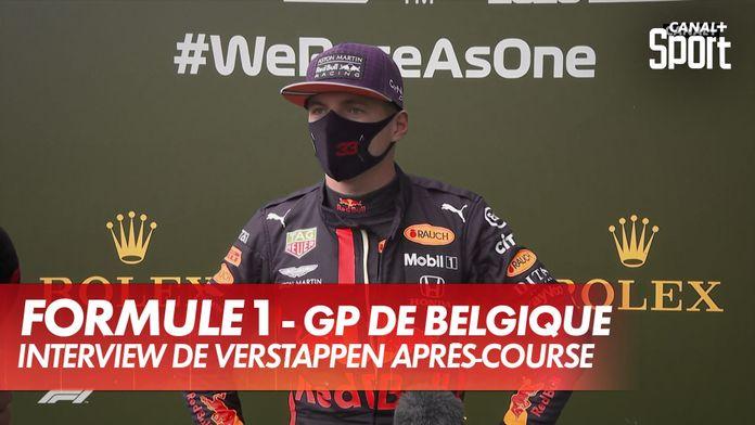 """Verstappen : """"C'était un GP ennuyeux"""" : Grand Prix de Belgique"""